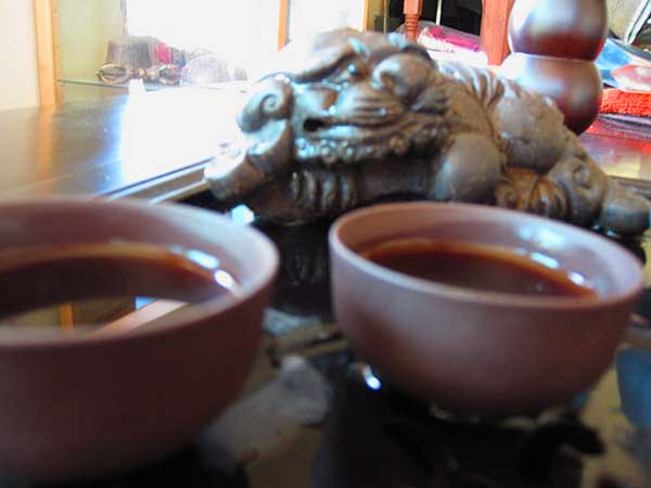Cups of puer